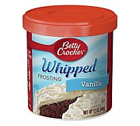 Betty Crocker Whipped Frosting Vanilla - 12 Oz