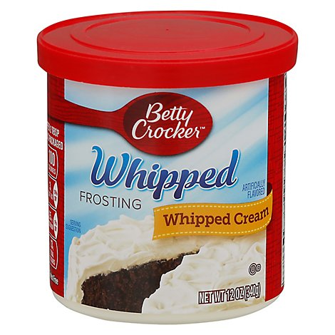 Betty Crocker Whipped Frosting Whipped Cream - 12 Oz