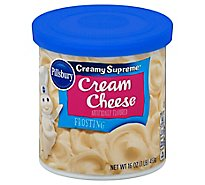 Pillsbury Creamy Supreme Frosting Cream Cheese - 16 Oz