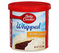 Betty Crocker Frosting Whipped Butter Cream - 12 Oz