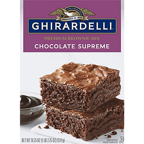 Ghirardelli Chocolate Brownie Mix Chocolate Syrup - 18.75 Oz