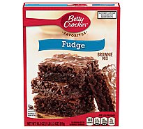 Betty Crocker Brownie Mix Favorites Fudges - 18.3 Oz