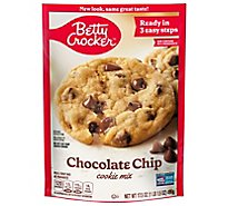 Betty Crocker Cookie Mix Chocolate Chip - 17.5 Oz