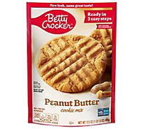 Betty Crocker Cookie Mix Peanut Butter - 17.5 Oz