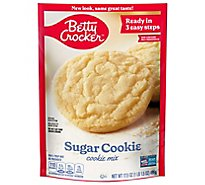 Betty Crocker Cookie Mix Sugar Cookie - 17.5 Oz