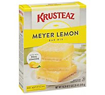 Krusteaz Supreme Bar Mix Meyer Lemon - 19.35 Oz