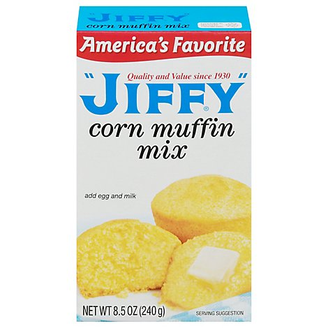 JIFFY Muffin Mix Corn - 8.5 Oz