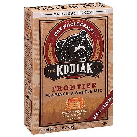 Kodiak Cakes Flapjack and Waffle Mix Frontier Original - 24 Oz