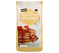 Signature SELECT Pancake & Waffle Mix Complete Buttermilk Bag - 56 Oz