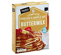 Signature SELECT Pancake & Waffle Mix Buttermilk Complete - 32 Oz