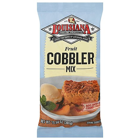 Louisiana Cobbler Mix - 10.58 Oz