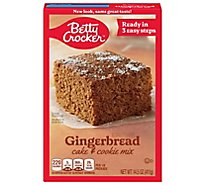 Betty Crocker Cake & Cookie Mix Gingerbread - 14.5 Oz