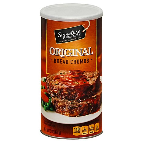 Signature SELECT Bread Crumbs Original - 15 Oz