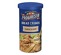 Progresso Bread Crumbs Garlic & Herb - 15 Oz