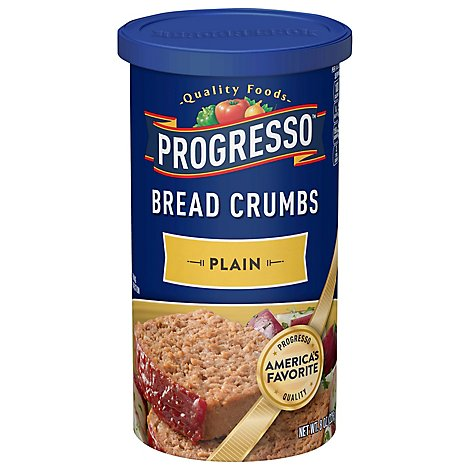 Progresso Bread Crumbs Plain - 8 Oz