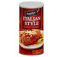 Signature SELECT Bread Crumbs Italian Style With Herbs & Spices - 15 Oz