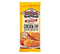 Louisiana Chicken Fry Seasoned Crispy - 9 Oz