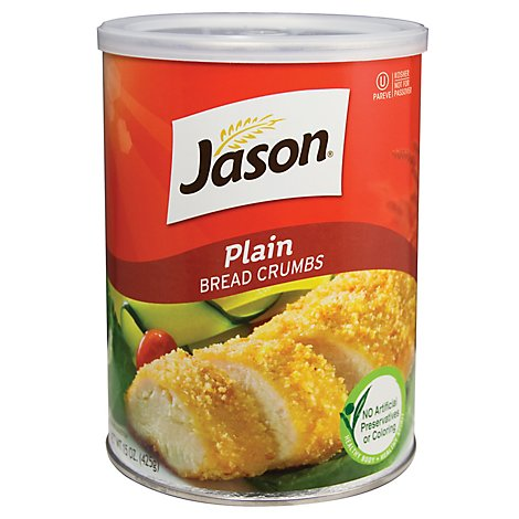 Jason Bread Crumbs Plain - 15 Oz