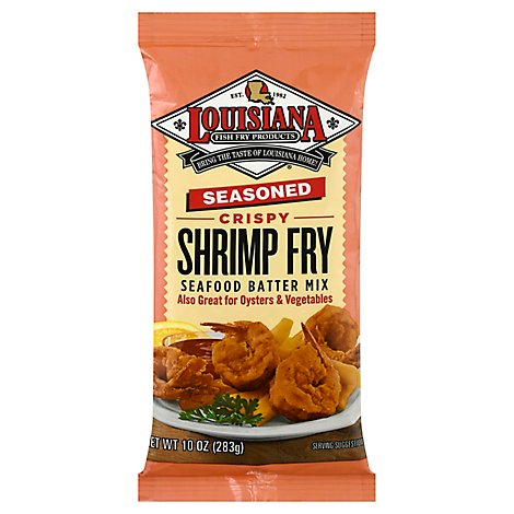 Louisiana Coating Seasoned Shrimp Fry - 10 Oz