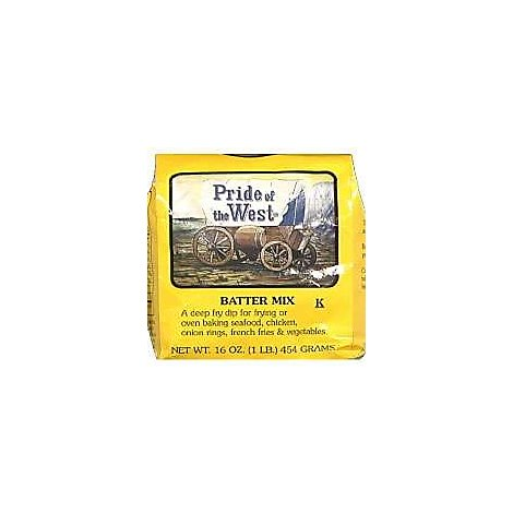 Pride Of The West Batter Mix All Purpose - 16 Oz