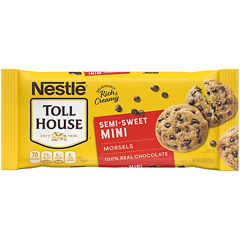 Toll House Morsels Mini Chocolate - 10 Oz