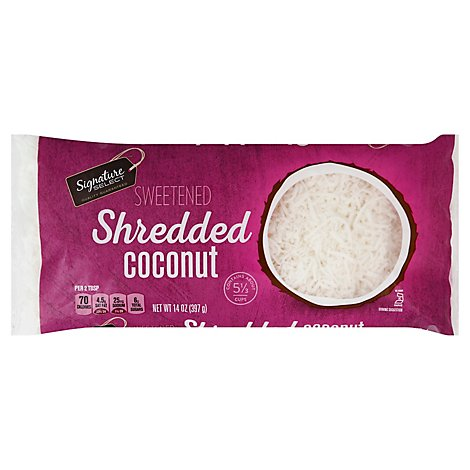Signature SELECT Shredded Coconut Sweetened - 14 Oz