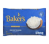 Bakers Angel Flake Coconut Sweetened - 14 Oz