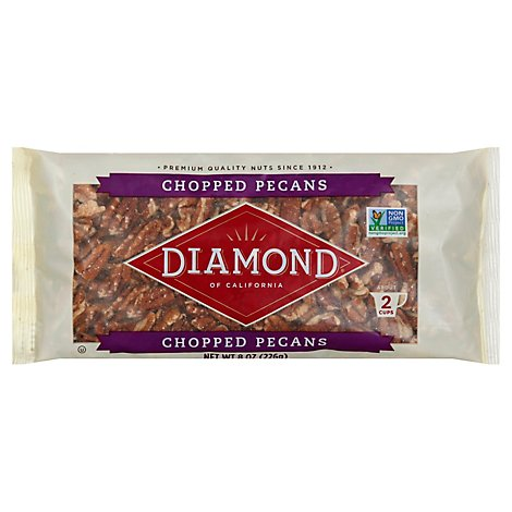 Diamond of California Pecans Chopped - 8 Oz