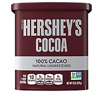 HERSHEYS Cocoa Natural Unsweetened - 8 Oz