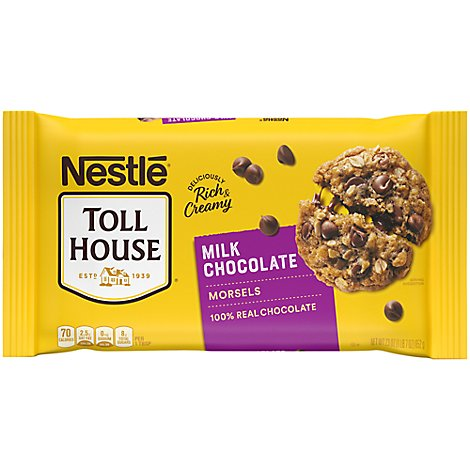 Nestle Toll House Morsels Milk Chocolate - 23 Oz