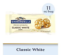 Ghirardelli Chocolate Baking Chips Premium Classic White Chips - 11 Oz