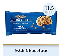 Ghirardelli Premium Baking Chocolate Chips Milk - 11.5 Oz