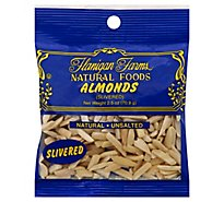 Flanigan Farms Almonds Slivered - 2.5 Oz