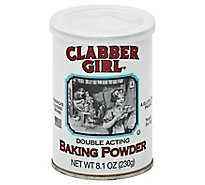 Clabber Girl Baking Powder - 8.1 Oz