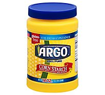 Argo Corn Starch 100% Pure Stay Fresh Container - 16 Oz