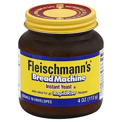 Fleischmanns Yeast Instant Bread Machine - 4 Oz