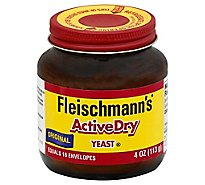 Fleischmanns ActiveDry Yeast Original - 4 Oz