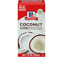 McCormick Extract Coconut With Other Natural Flavors - 1 Fl. Oz.