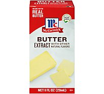 McCormick Extract Butter With Other Natural Flavors - 1 Fl. Oz.