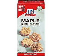 McCormick Extract Maple With Other Natural Flavors - 1 Fl. Oz.