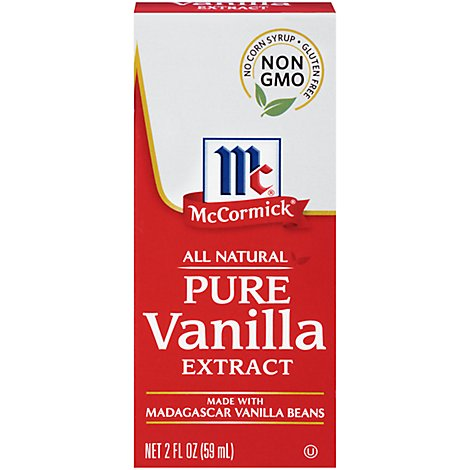 McCormick Extract All Natural Pure Vanilla - 2 Fl. Oz.