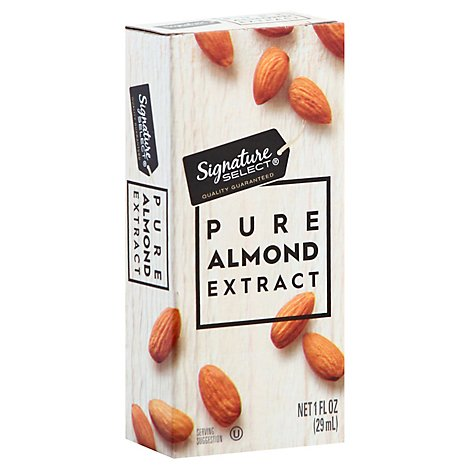 Signature SELECT Extract Pure Almond - 1 Fl. Oz.