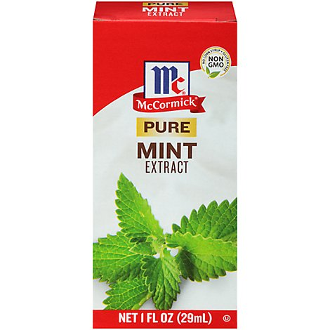 McCormick Extract Pure Mint - 1 Fl. Oz.