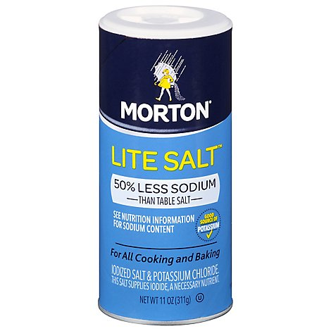 MORTON Salt Lite - 11 Oz