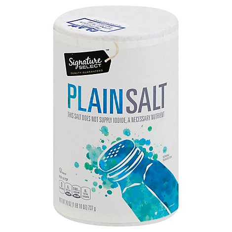 Signature SELECT Salt Plain - 26 Oz