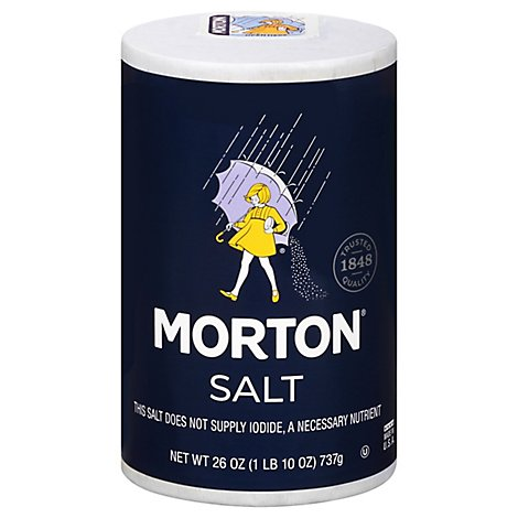 MORTON Salt Plain - 26 Oz