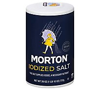MORTON Salt Iodized - 26 Oz