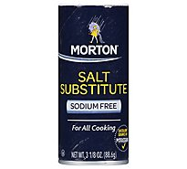 MORTON Salt Substitute - 3.125 Oz
