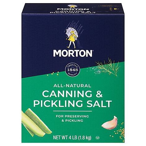 MORTON Salt Canning & Pickling - 4 Lb