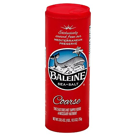 La Baleine Sea Salt Coarse - 26.5 Oz